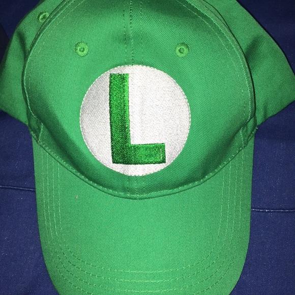 Brand New Super Mario Brothers Luigi Child Hat Accessory
